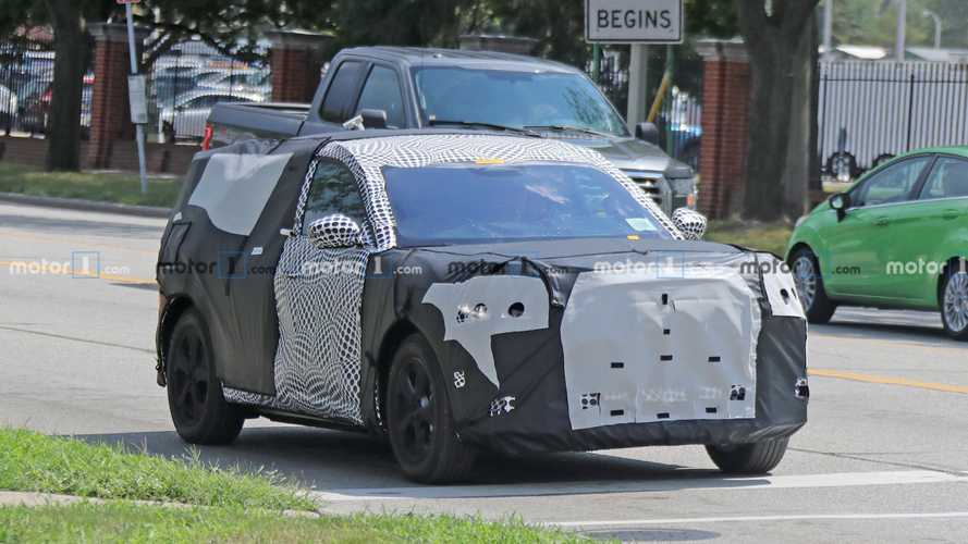 Ford Mach E spy photos