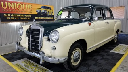 1959 mercedes benz 190 b boasts factory specs