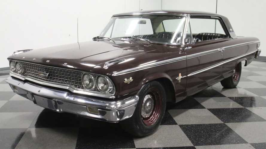 Burgundy Maroon 1963 Ford Galaxie 500 XL Is A Sharp Cruiser