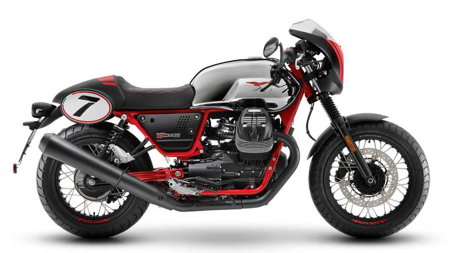 Moto Guzzi's 10th Anniversary V7 III Racer Is So Pretty, Folks
