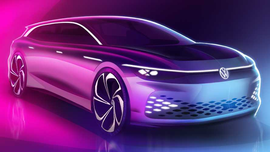 Тизеры концепта Volkswagen I.D. Space Vizzion
