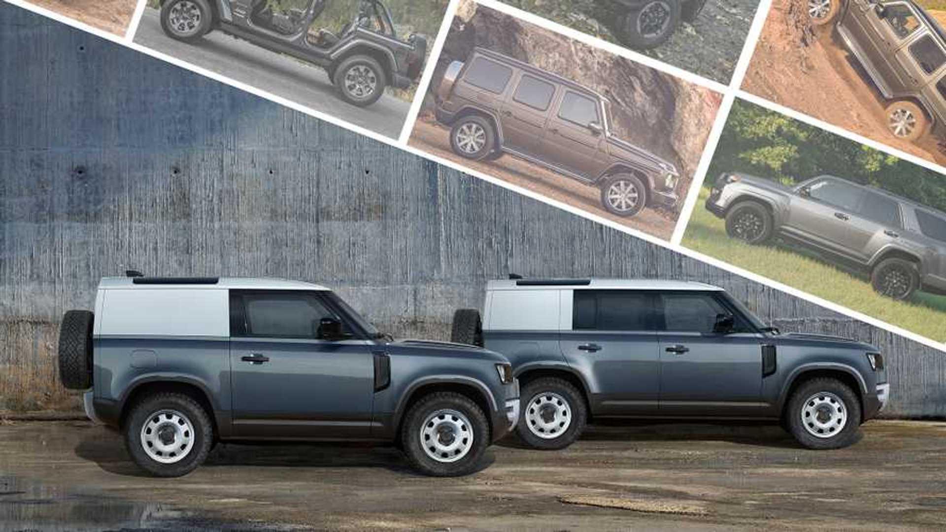 2020 Land Rover Defender Vs. Wrangler, 4Runner, G-Class