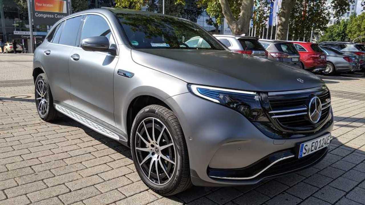 Тест-драйв Mercedes-Benz EQC