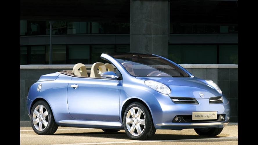 Nissan, öffne dich: Micra Coupé-Cabrio kommt 2005