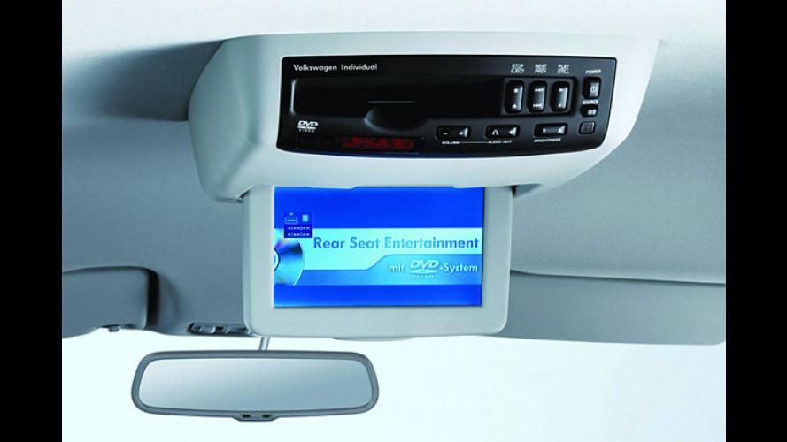 Kino für unterwegs: DVD-System für VW Passat und Sharan