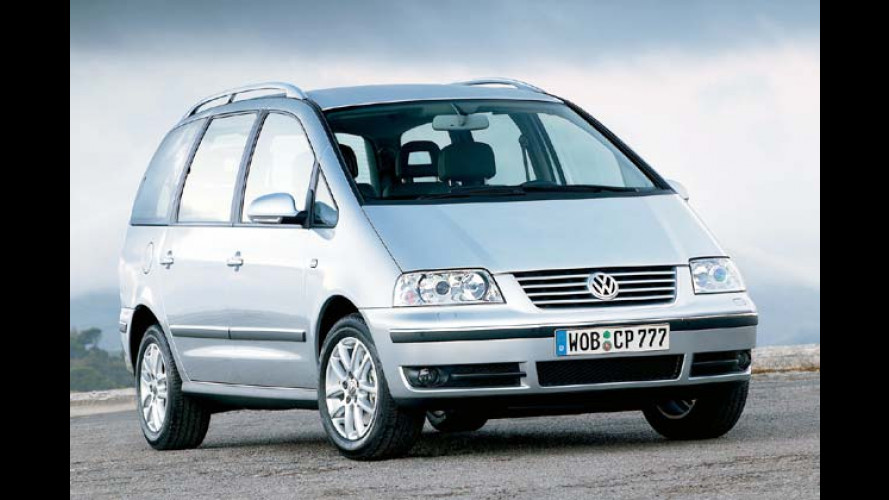 VW Sharan: Mehr Ausstattung für weniger Geld