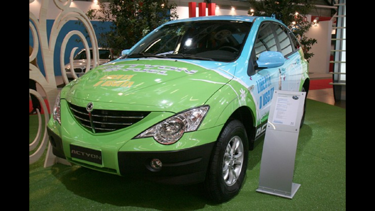 SsangYong Actyon Bi-Fuel