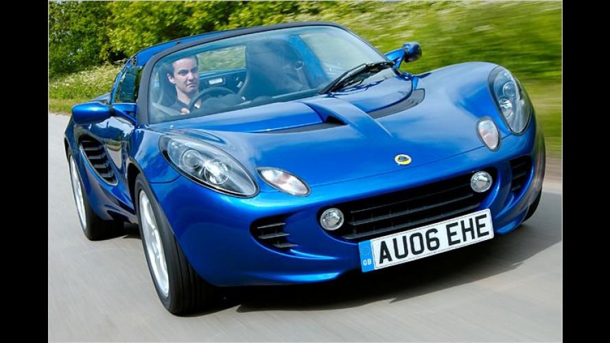 Leichtes Mädchen: Lotus Elise S mit neuem Basismotor