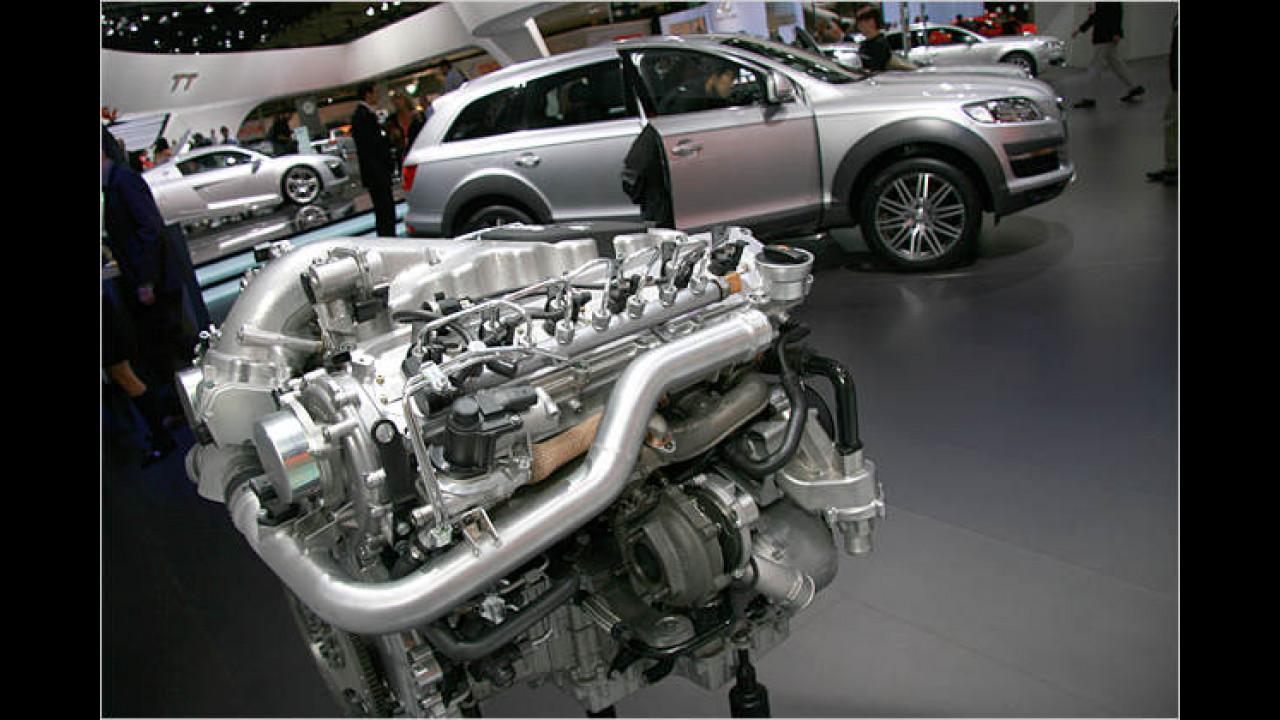 Audi Q7 Zwölfzylinder-Diesel