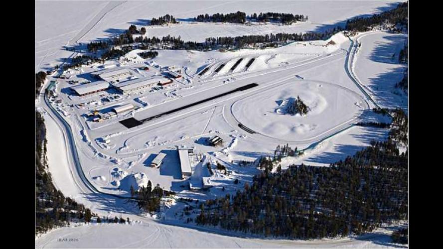 Richtig heiß auf Eis: Die Freude am BMW-Fahren in Lappland
