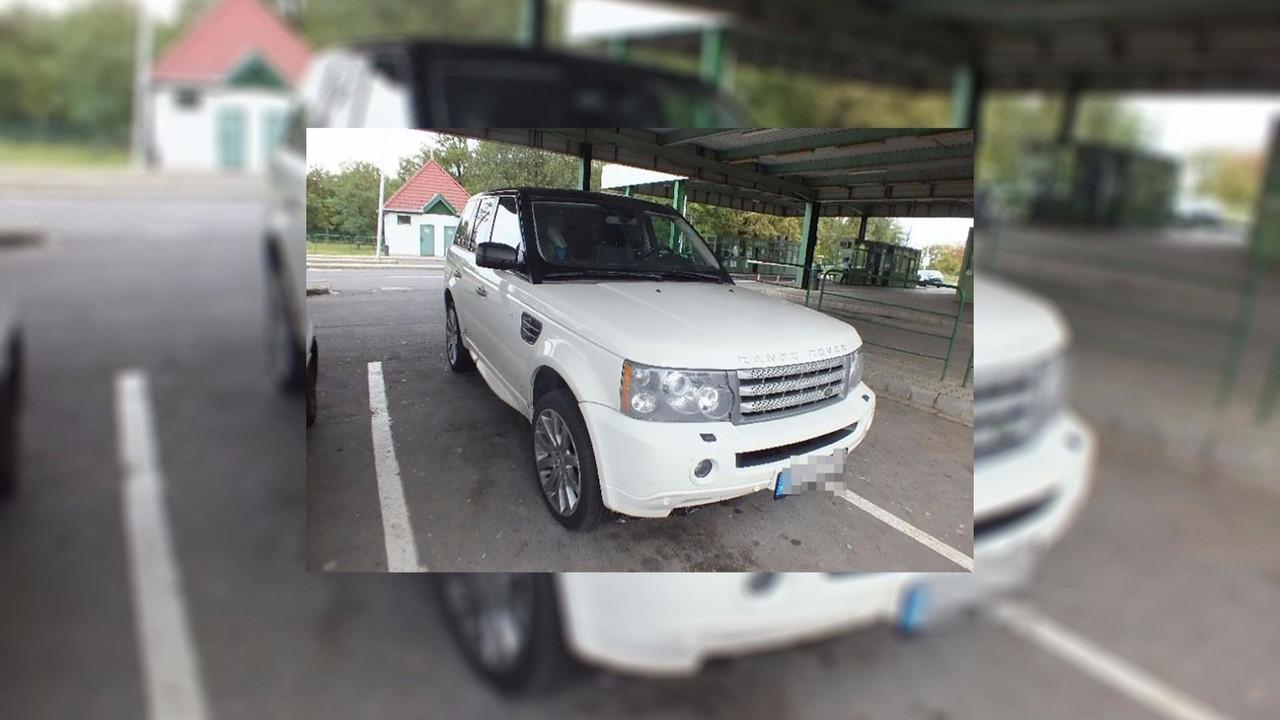Stolen Range Rover Engine