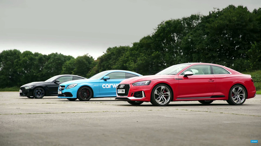 Tamamen Alman Drag Yarışı: Audi vs. BMW vs. Mercedes