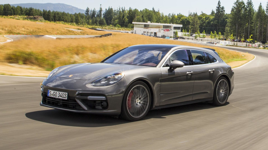 Bugatti boss drives a Panamera Sport Turismo, changes car every year