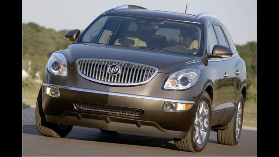 Das neue Gesicht: Buick zeigt das Crossover-SUV Enclave