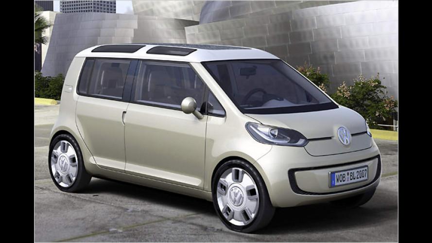 Blaue Brennstoffzellen-Zukunft: VW-Studie space up! blue