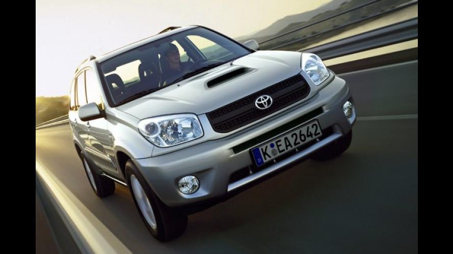Toyota RAV 4: CD-Radio und 16-Zoll-Aluräder für lau