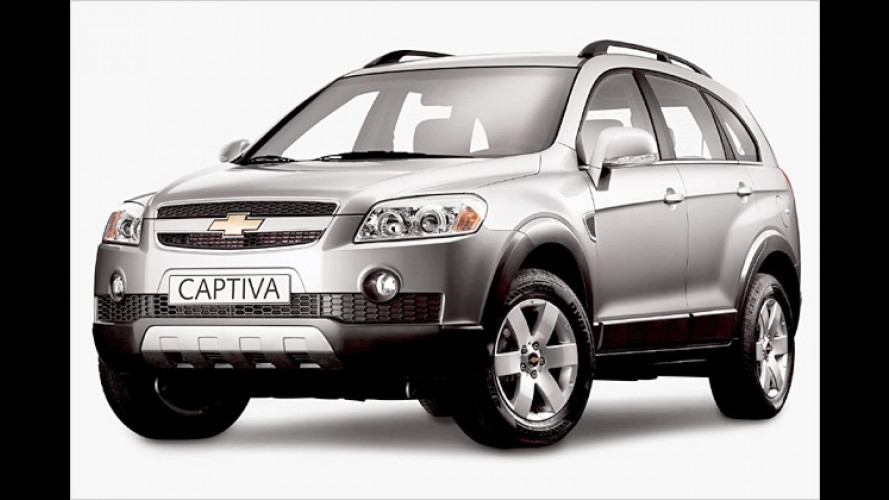 Ab 22.490 Euro: Preise des Chevrolet Captiva jetzt bekannt