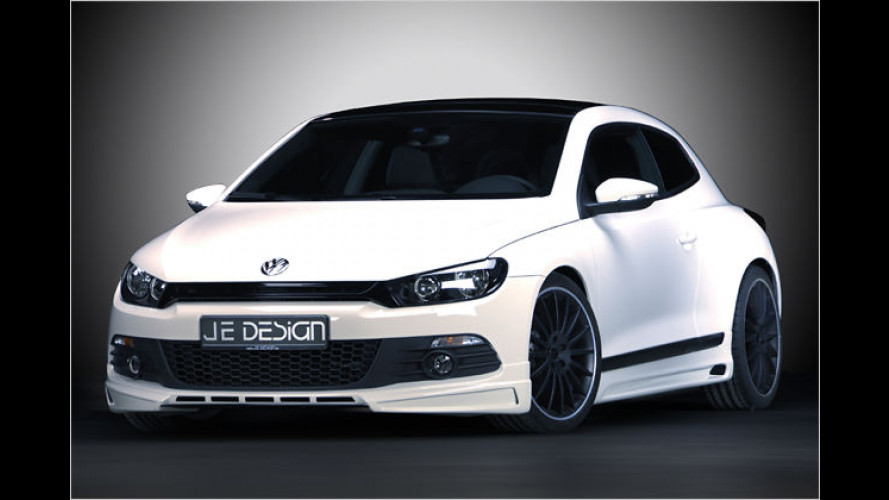 JE Design bietet Sportprogramm für VW Scirocco an