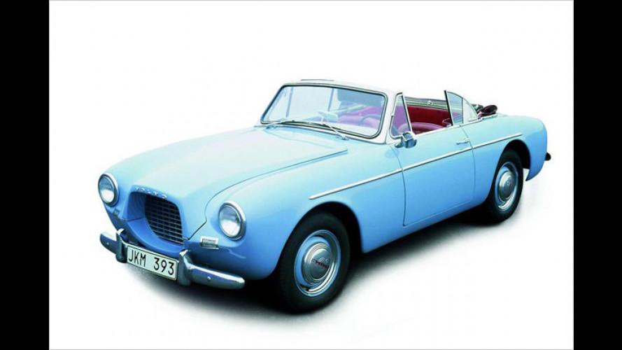 Volvo-Cabrios: Vom P1900 aus den 50er-Jahren zum C70