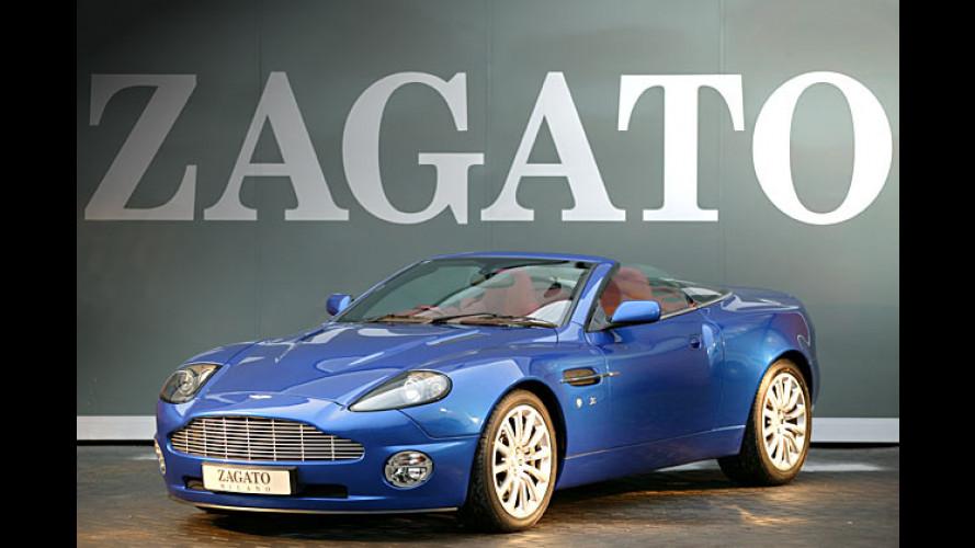 Aston Martin Vanquish Roadster: Italienischer Aufschnitt