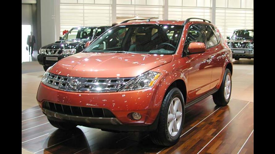 Nissan Murano: Neues SUV erweitert Modellpalette ab 2005