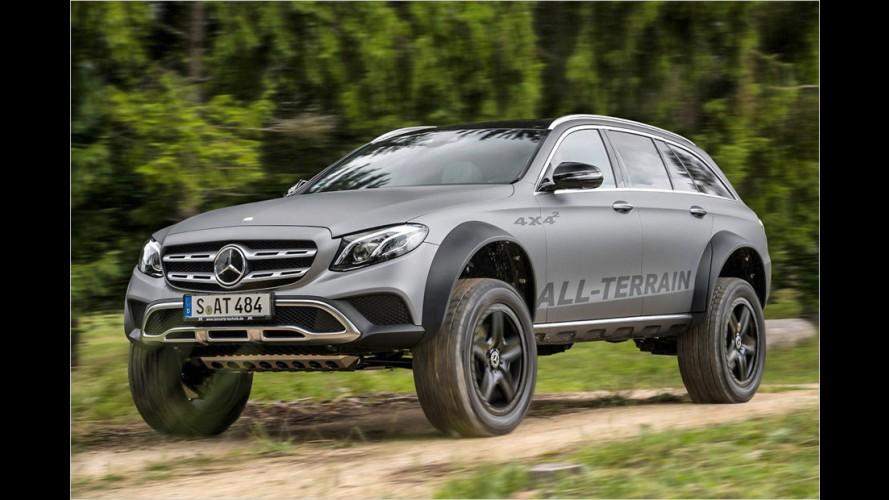 Mercedes E 400 All-Terrain 4x4²:  Kommt die irre Mega-E-Klasse?