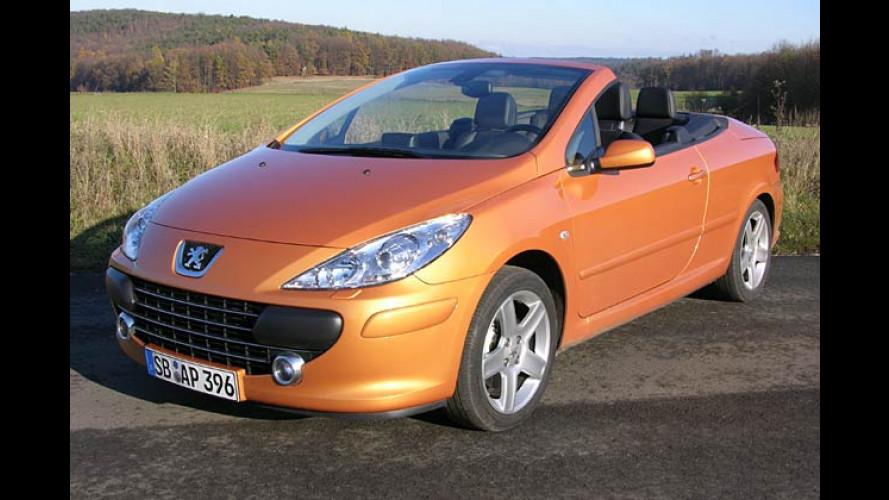 Peugeot 307 CC mit neuem Look und erstmals mit Diesel