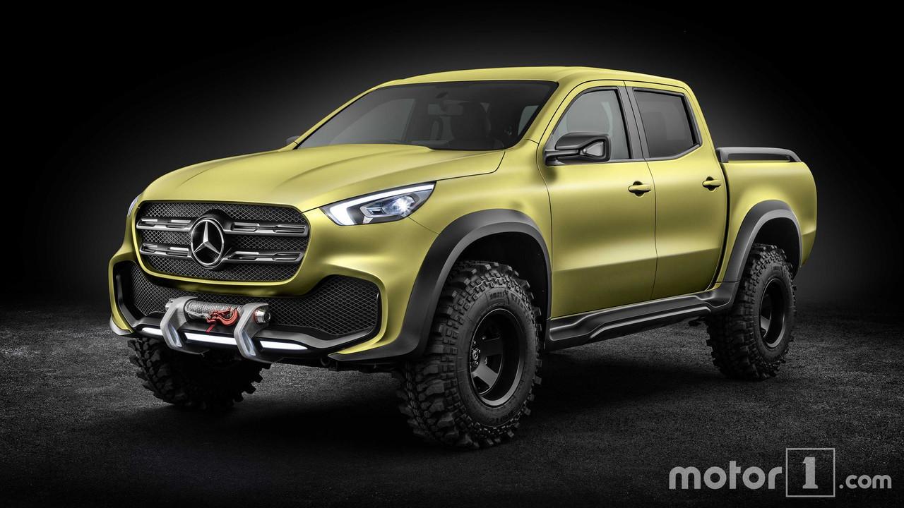 Mercedes Classe X vs Concept