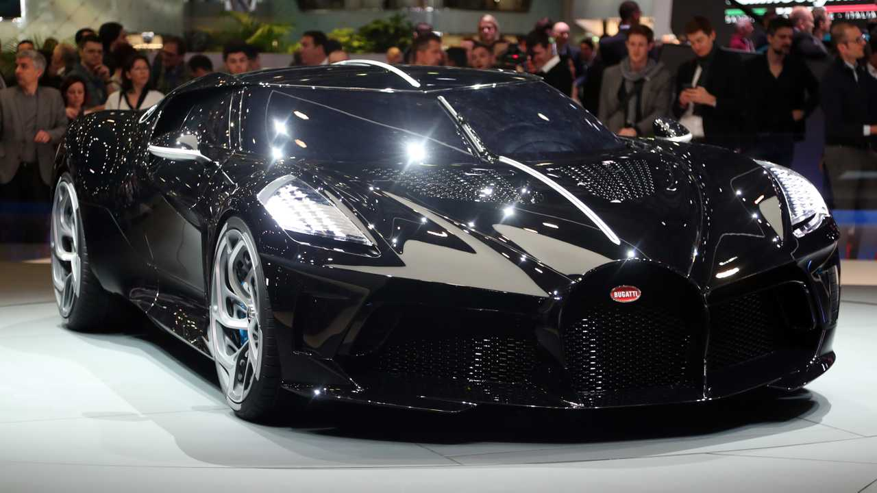 Bugatti The Black Car: Geneva Live