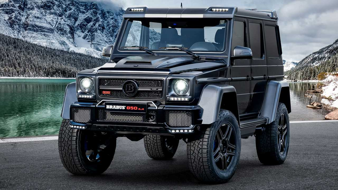 Brabus 850 6.0 Biturbo 4x4 Final Edition Mercedes-Benz G-Class