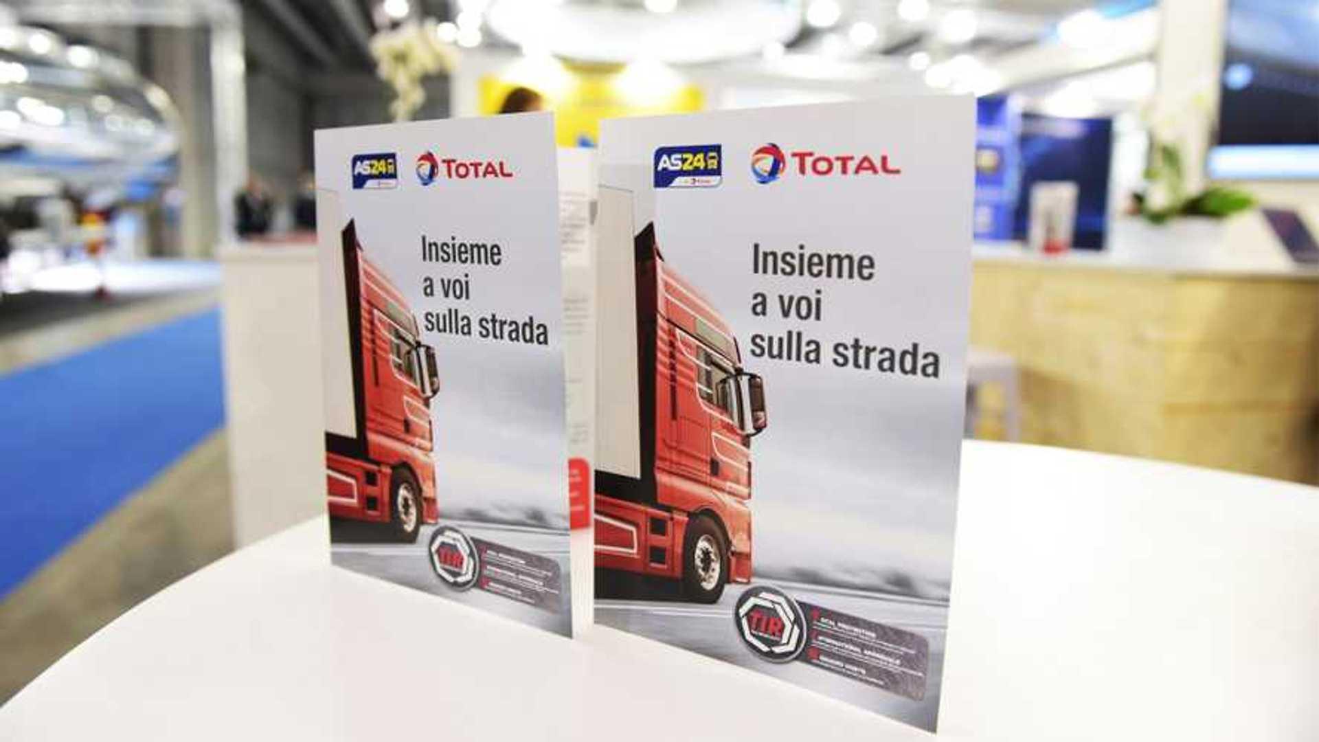 Total e AS24 per il trasporto professionale