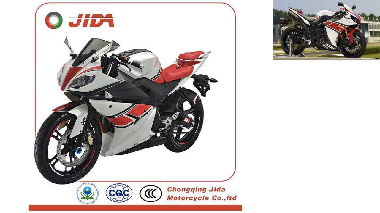 Jida JD250 = Yamaha YZF-R1 WGP 50th Anniversary