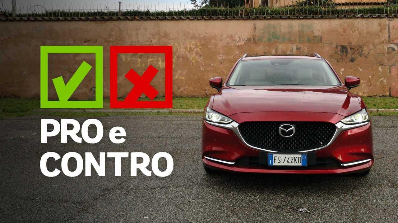 Mazda6 2.2L Skyactiv-D AT Exclusive, pro e contro