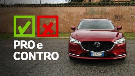 Mazda6 Wagon 2.2L Skyactiv-D Exclusive, pro e contro