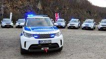Bundespolizei fährt Land Rover Discovery