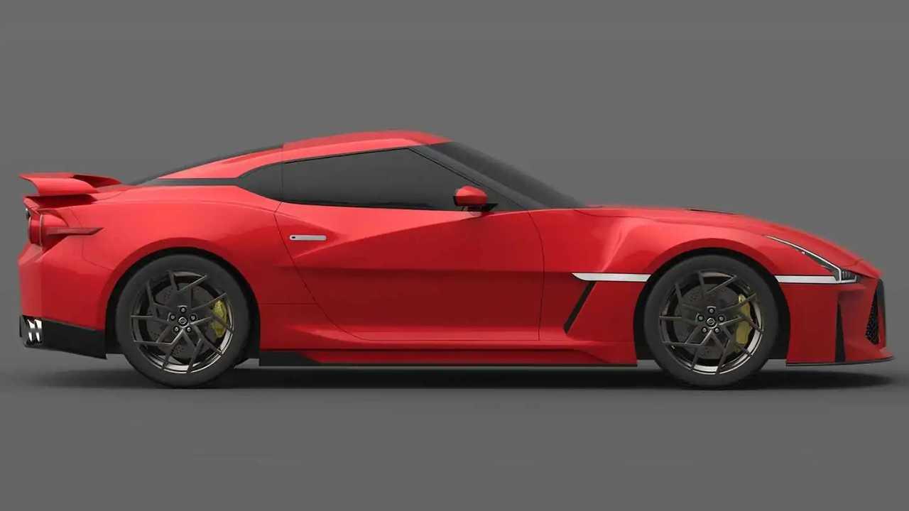 Illustration Nissan GT-R R36 (2021)
