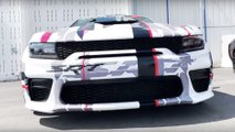 Dodge Charger Widebody Concept At SoCal LX Spring Fest 14