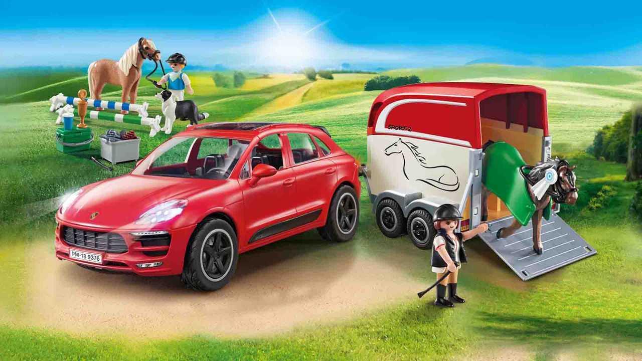 Porsche Macan GTS von Playmobil