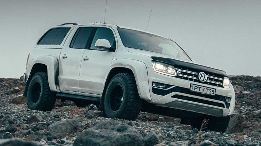 VW Amarok Gets The Arctic Trucks Treatment