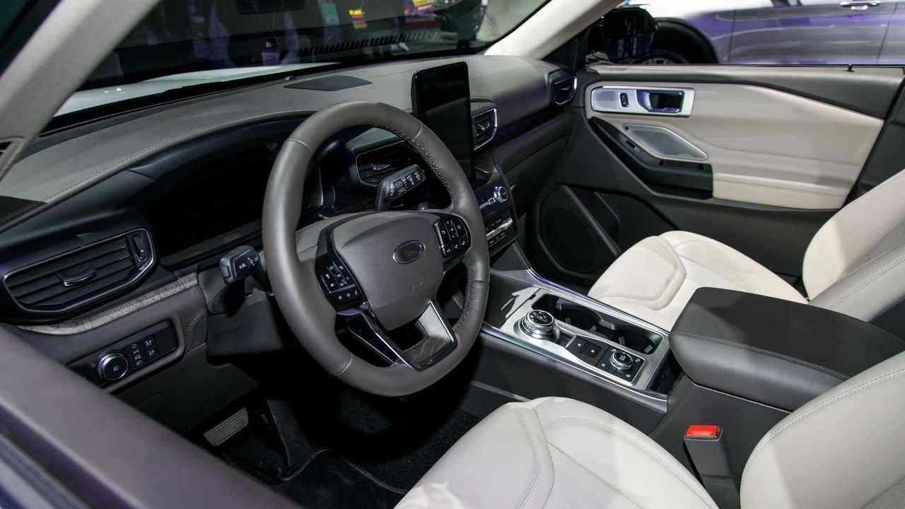 2020 Ford Explorer Live Naias Motor1 Com Photos