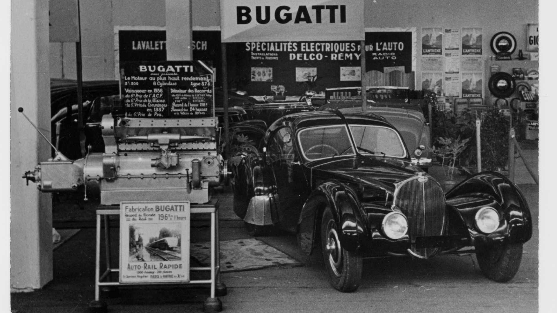 "[""Bugatti Type 57 Atlantic The Black Car""]"