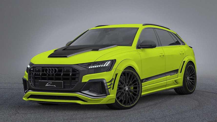 Lumma macht den Audi Q8 sehr breit, wütend und grün