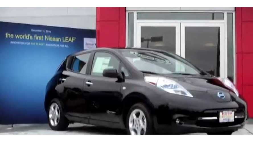 Video: World's First Nissan LEAF Owner Discusses Life With the LEAF After Nearly 3 Years Behind the Wheel