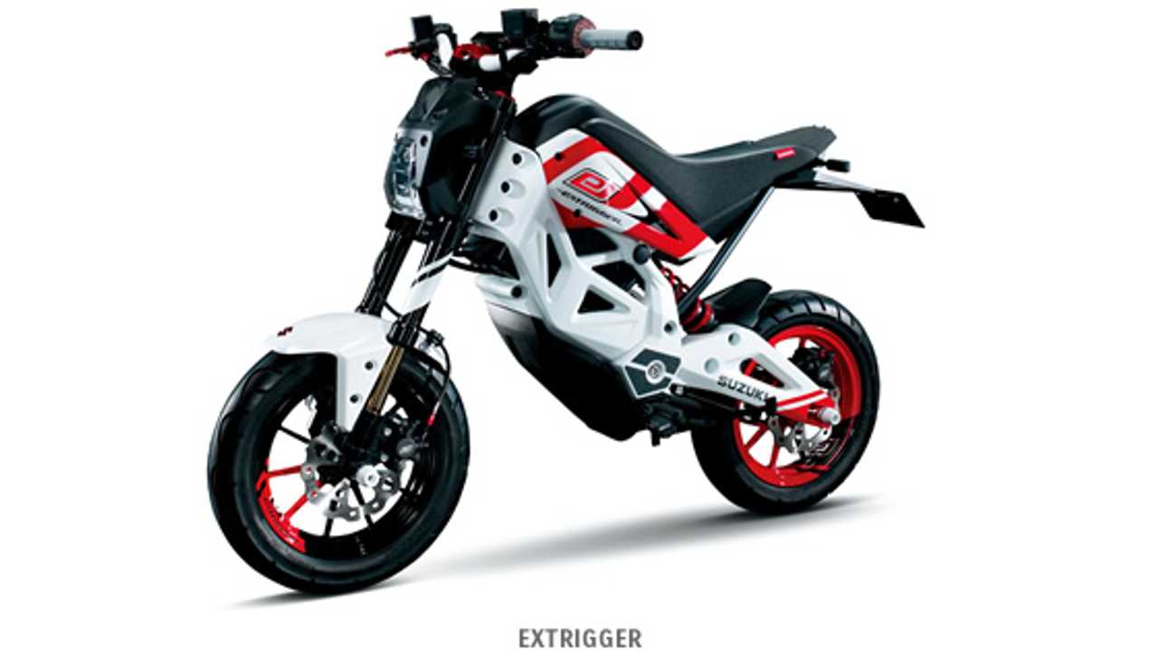 Suzuki to Debut EXTRIGGER Electric Motorcycle at Tokyo Motor Show (w/video)