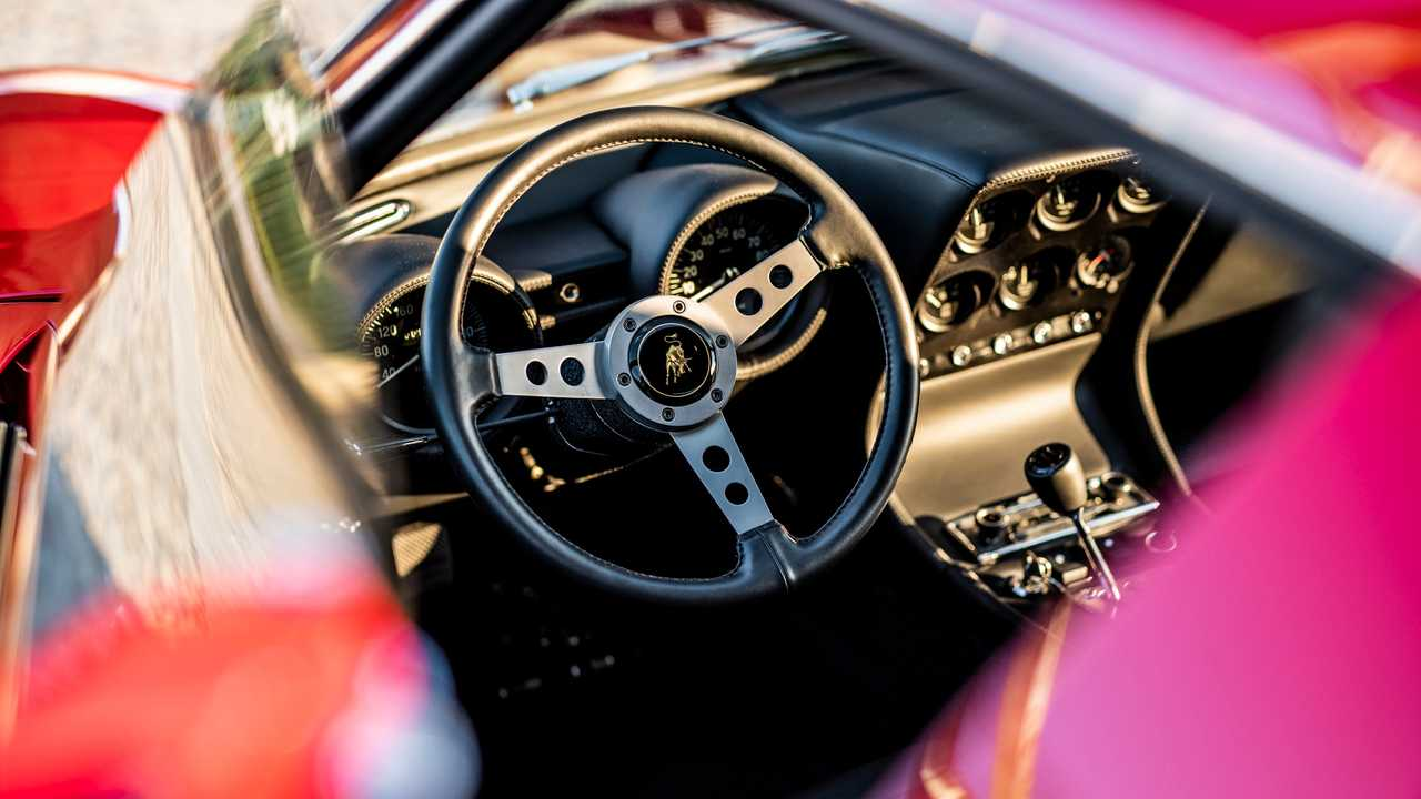 Lamborghini Miura Jean Todt