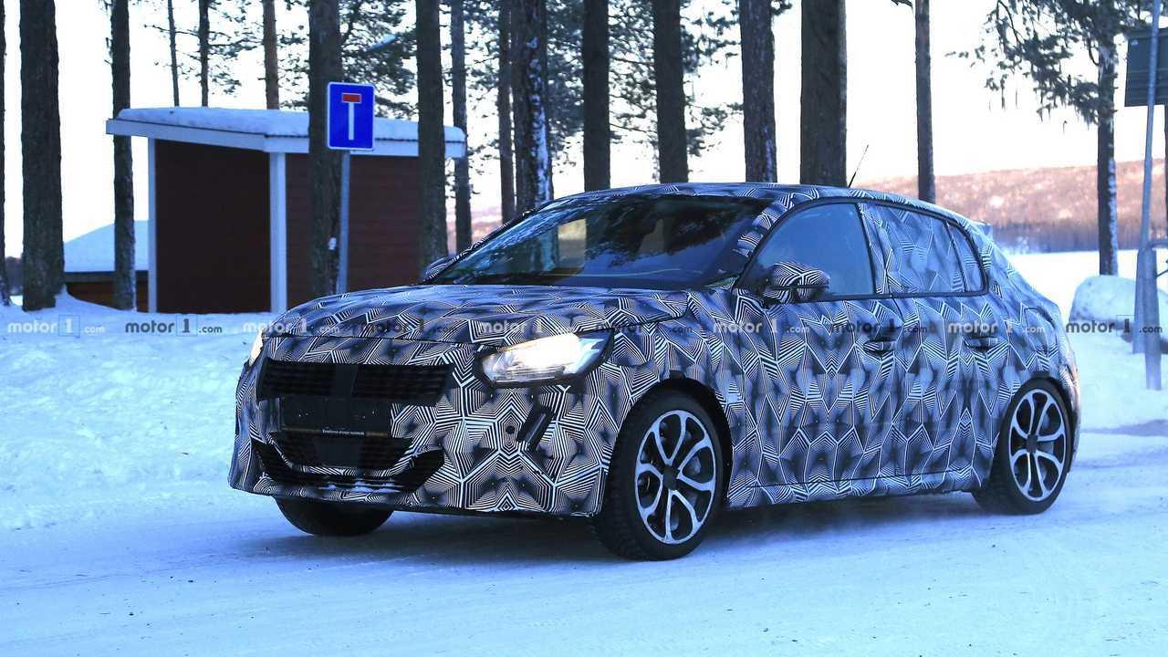 Photo of the 2019 Peugeot 208 Spy