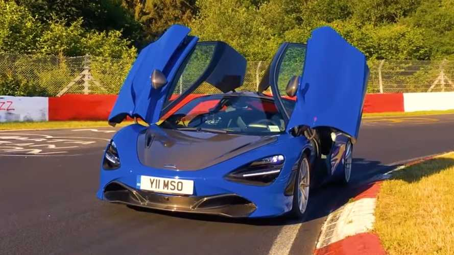 Watch McLaren 720S Furiously Lap The Nurburgring In 7:08.34