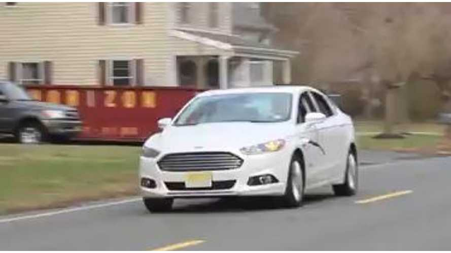 Ford Fusion Energi Charges Itself To Become a Perpetual Motion Machine - Video
