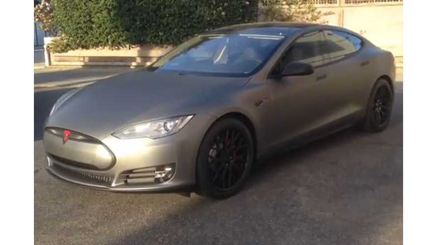 Tesla Model S P85+ Hard Rock Edition - Video