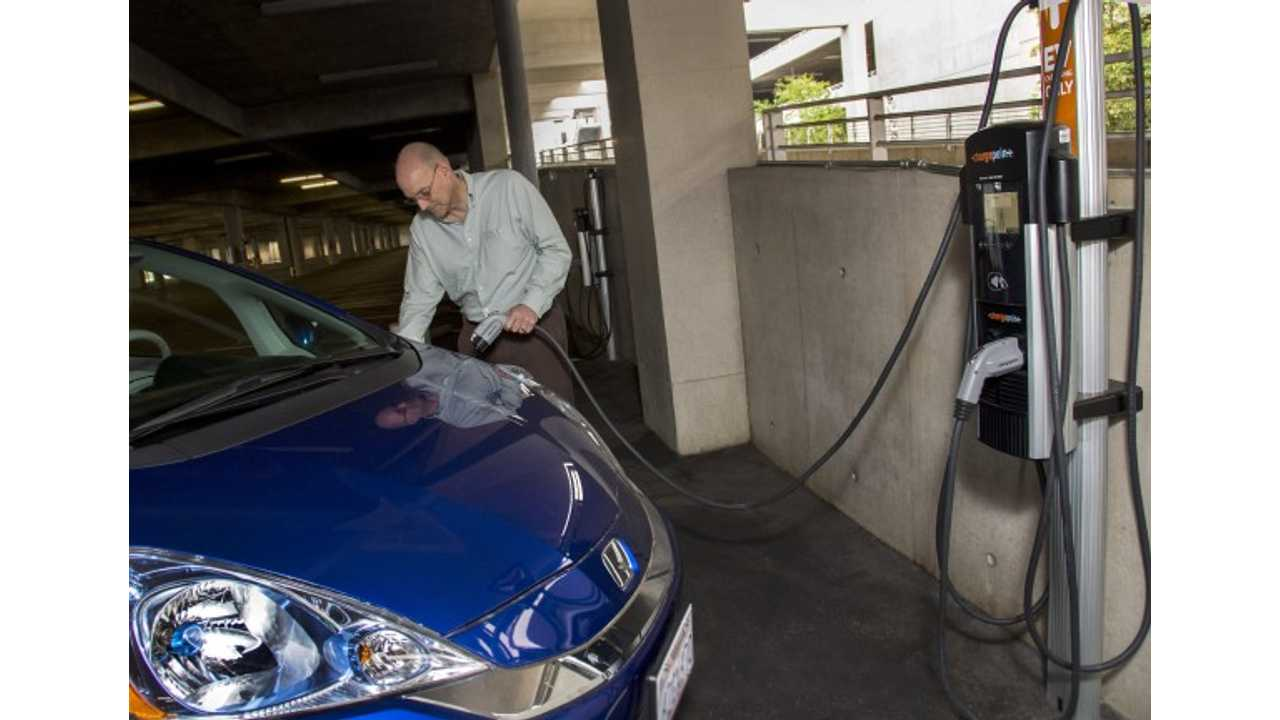 Thirty Charging Stations Are Now Live At Disneyland - 20 Of Which Can Be Found In The Main Parking Garage